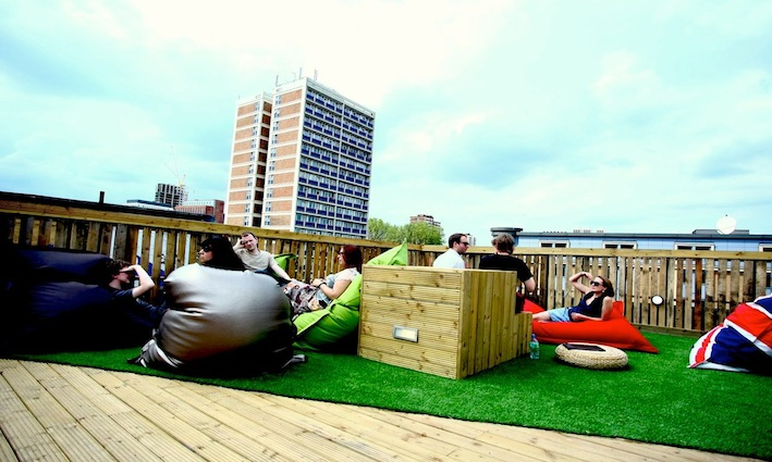 Red Roof Terrace Shoreditch Made In Shoreditch Magazine