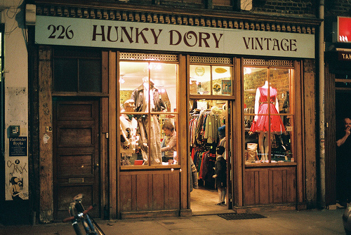 Top 9 vintage shops in shoreditch made in shoreditch - Boutique vintage londres ...
