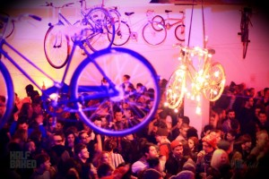 Huges crowds of house lovers are drawn to the HB parties