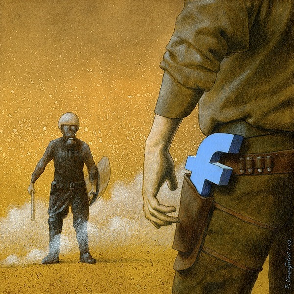 Outside Shoreditch Political Satire In Art By Pawel Kuczynski