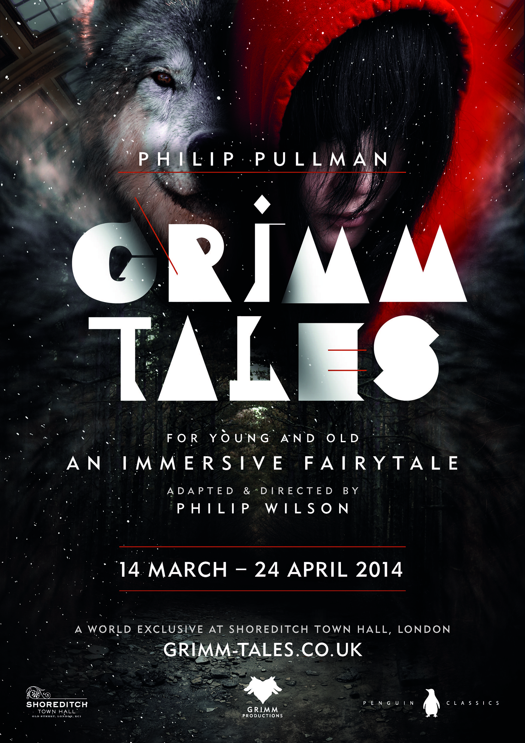 Shoreditch Town Hall: Grimm Tales Will Have It's World Premier At Shoreditch