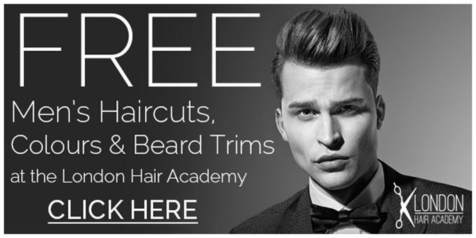 Mens Hairstyles 2019 Uk: The London Hair Academy Are Offering FREE Men's Haircuts