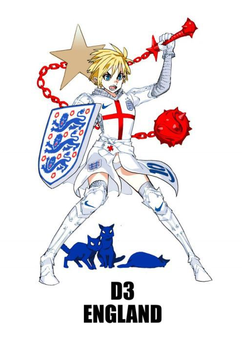 World Cup Mascot S Drawn Like Anime Characters Made In