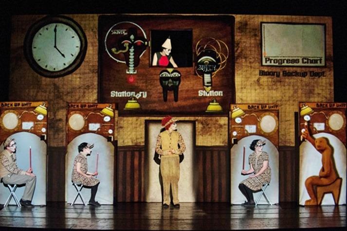 Salzburger Festspiele 2014<br /> - Golem -<br /> Landestheater Salzburg<br />