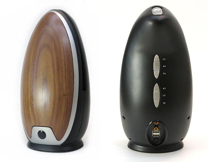 Modern Vinyl Record Player