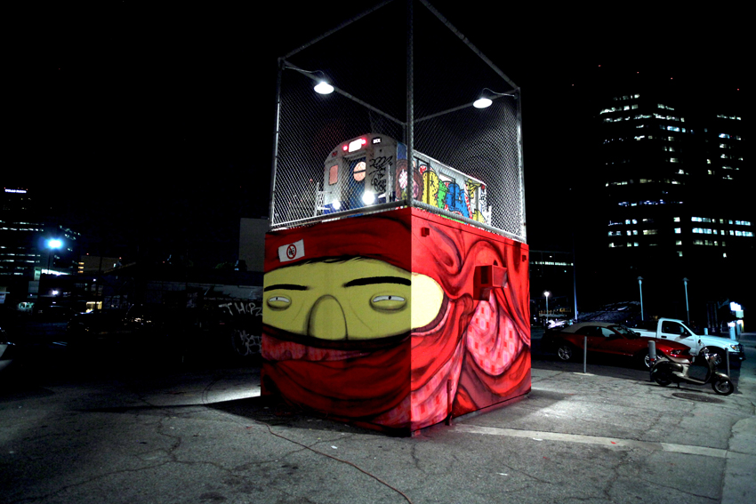 IMAGE 01 OSGEMEOS Art in the Streets 2011