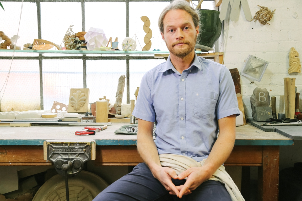 Adam Williamson - geometer, stone and wood carver