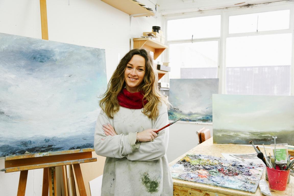 Georgie Mason - painter