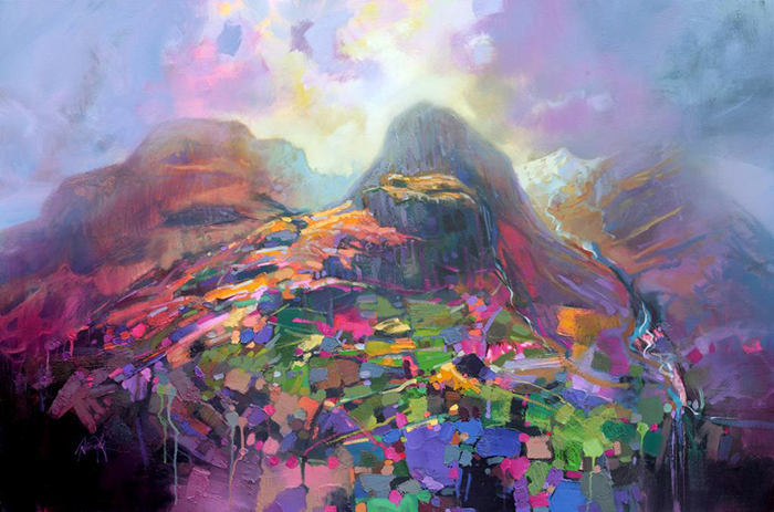 Light Refractions Of Landscape And Sky  Scott Naismith U0026 39 S