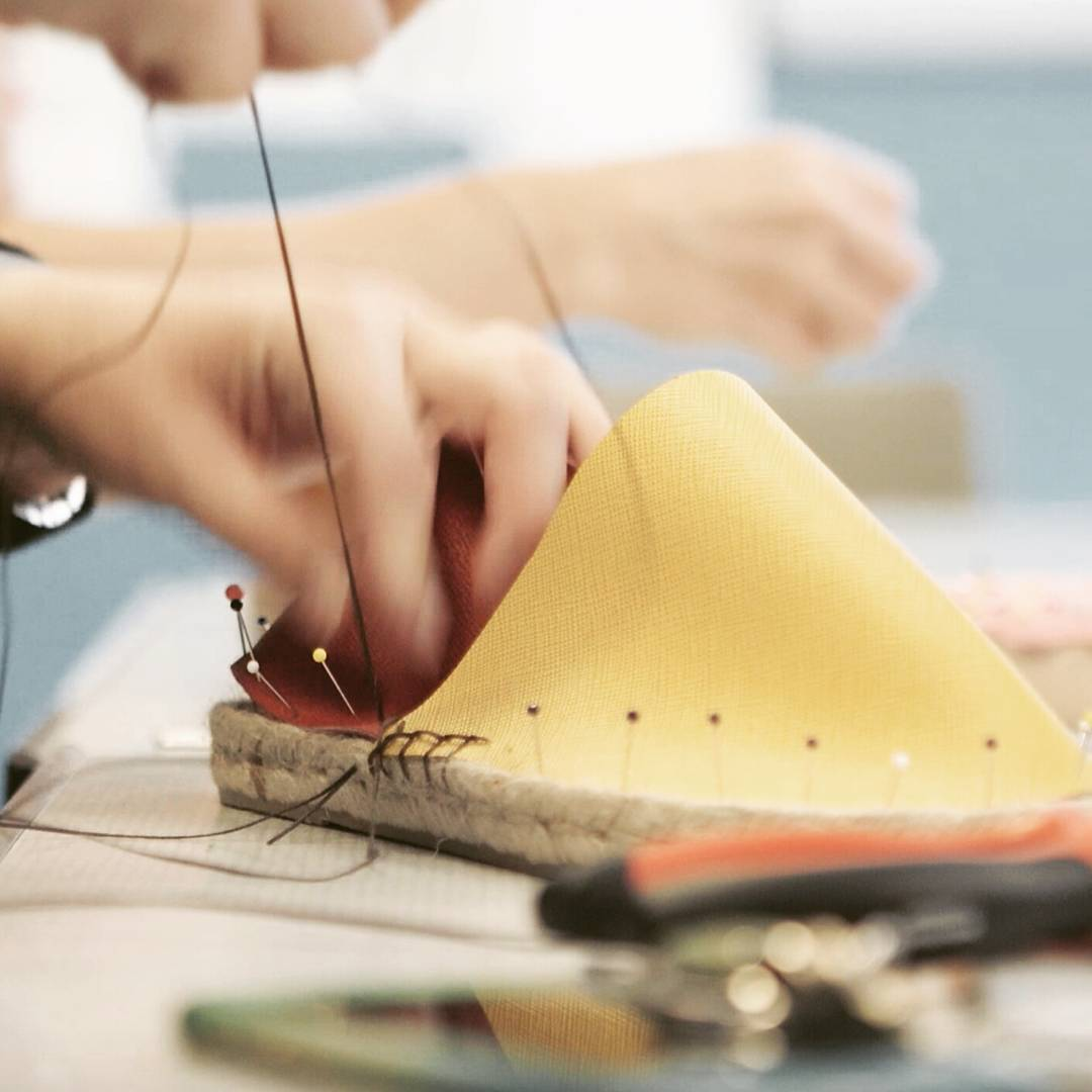 Design and make your own bespoke espadrilles from reclaimed leather in our social enterprise studio