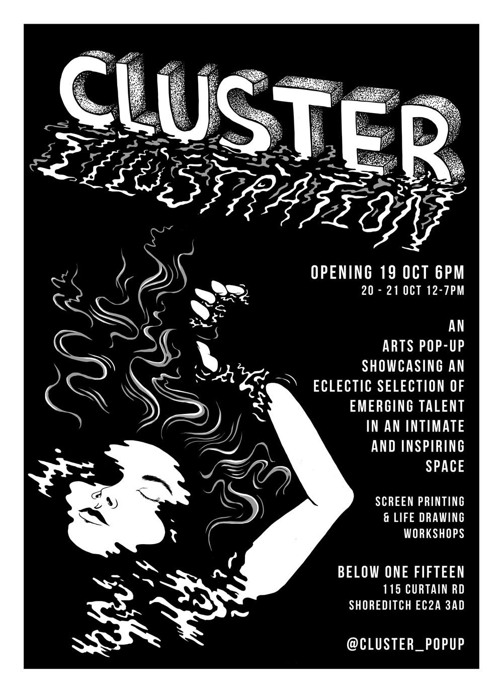 Cluster Illustration Pop-up