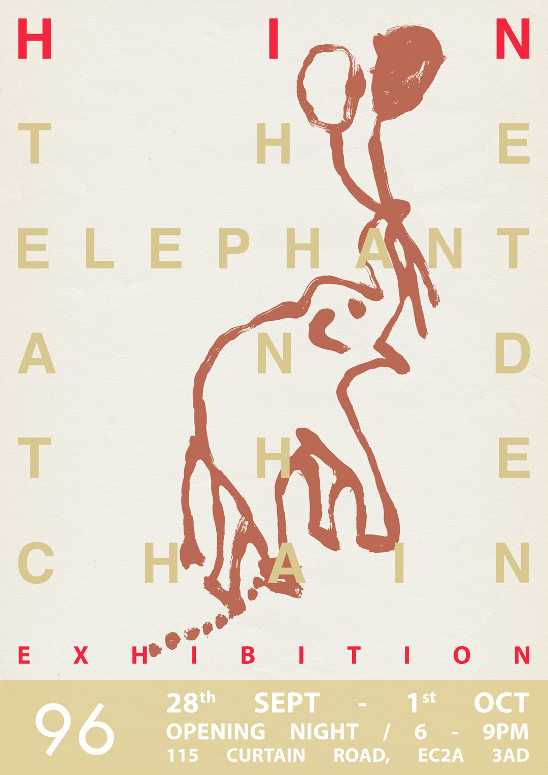 The Elephant and the Chain by HIN