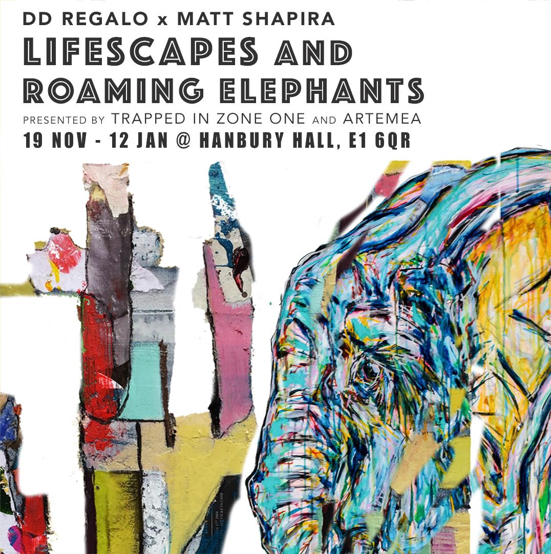 Dd Regalo x Matt Shapira - Lifescape and Roaming Elephants