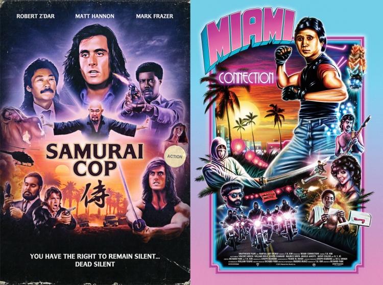 """Crap Film Club presents """"Samurai Cop"""" & """"Miami Connection"""" Double Bill"""