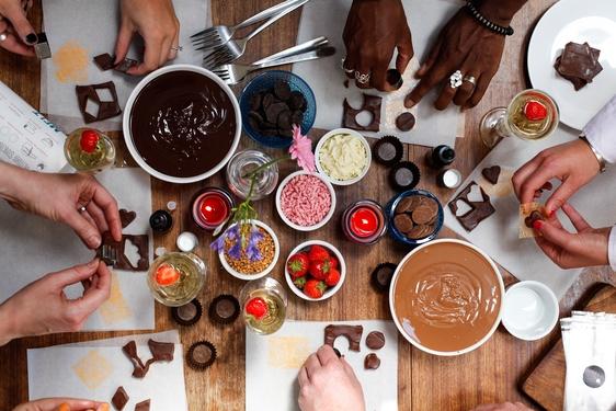 Luxury Valentine's Chocolate Workshop