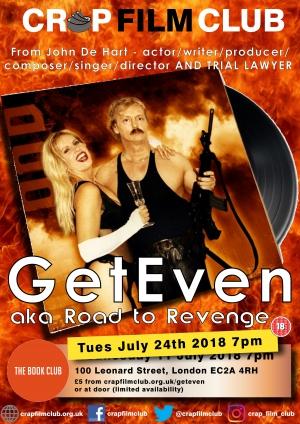 """Crap Film Club presents """"Geteven"""""""
