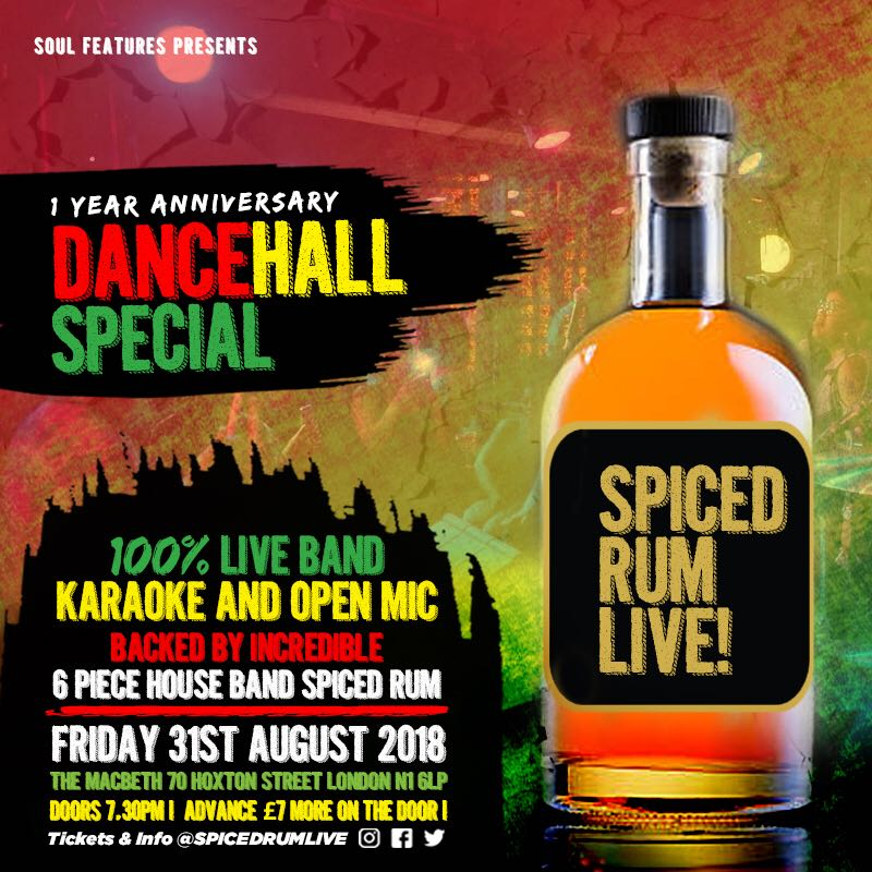 Spiced Rum Live