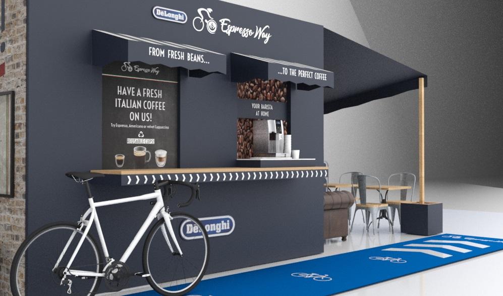 De'Longhi's Cycle-Thru Coffee Shop with Chris Hoy