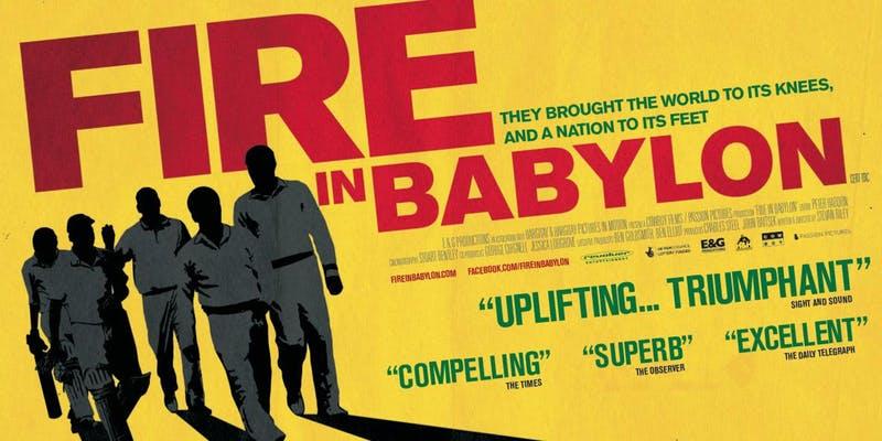 Welcome Cinema + Kitchen + Surrey County Cricket Club present FIRE IN BABYLON