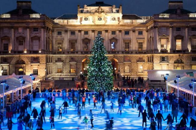 Christmas Ice Skating London.8 Places To Ice Skate In London This Christmas Made In