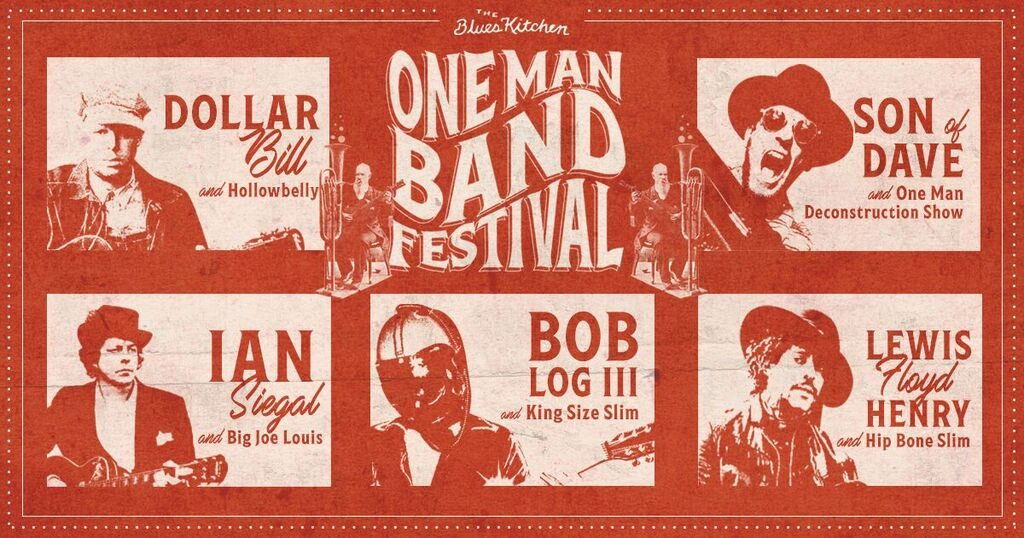 One Man Band Festival: Son of Dave + One Man Destruction