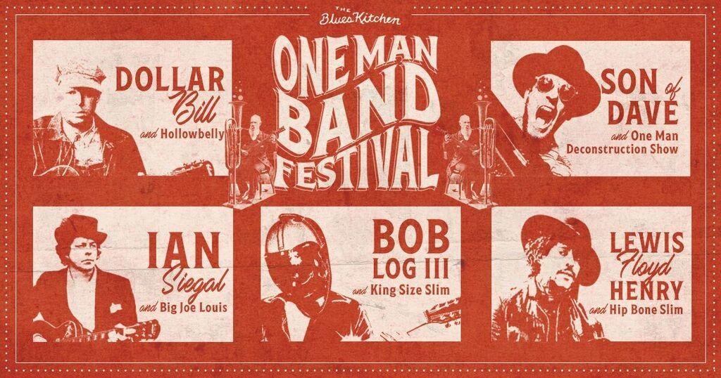 One Man Band Festival: Bob Log + King Size Slim