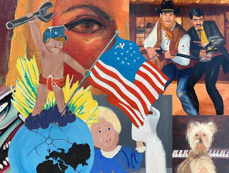 Curated Mayhem - American Thrift Store Art