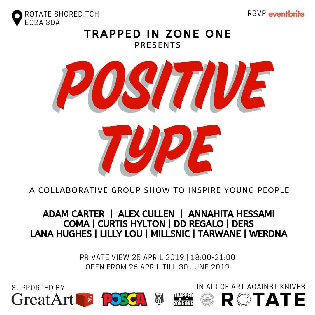 Trapped in Zone One Presents Positive Type