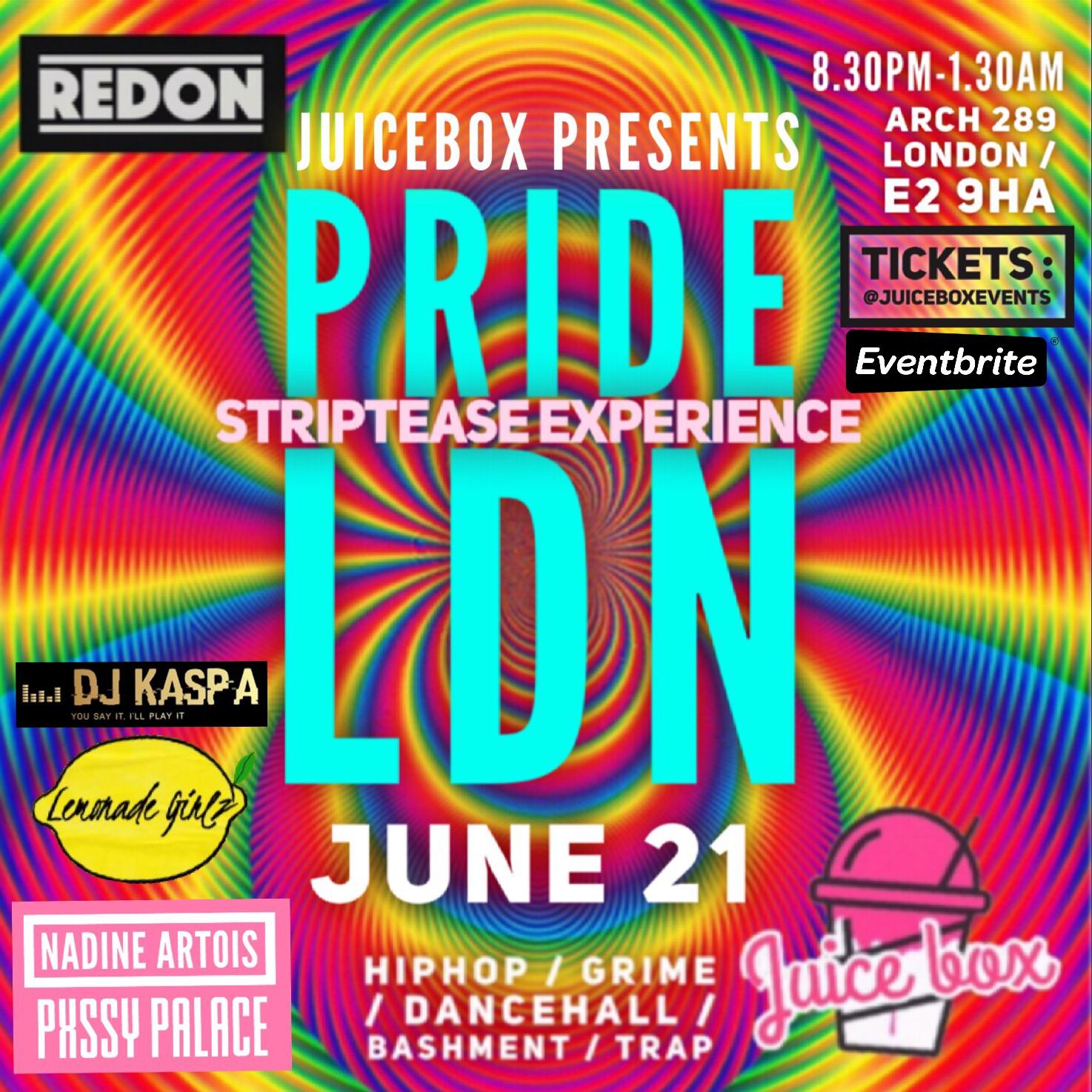 JuiceBox Presents Pride LDN