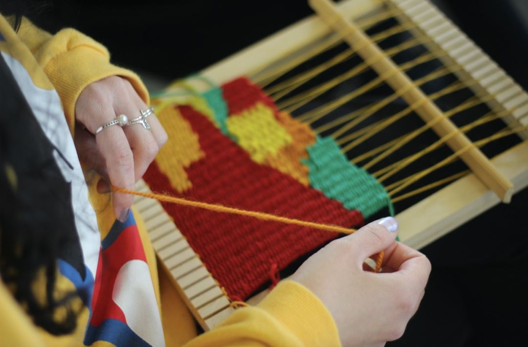 Tapastry Frame Weaving Workshop