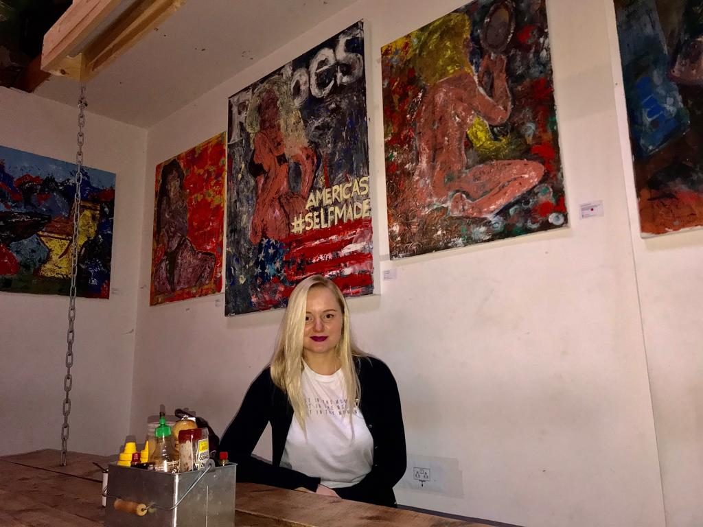 "Hungry? An Art Exhibition ""We All Have A Hunger"" Will Feed You At Islington's Cafe ""Vagabond N7"""