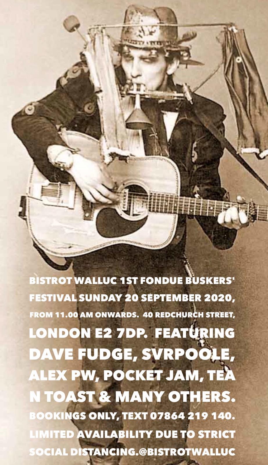 Bistrot Walluc 1st Fondue Buskers' Festival
