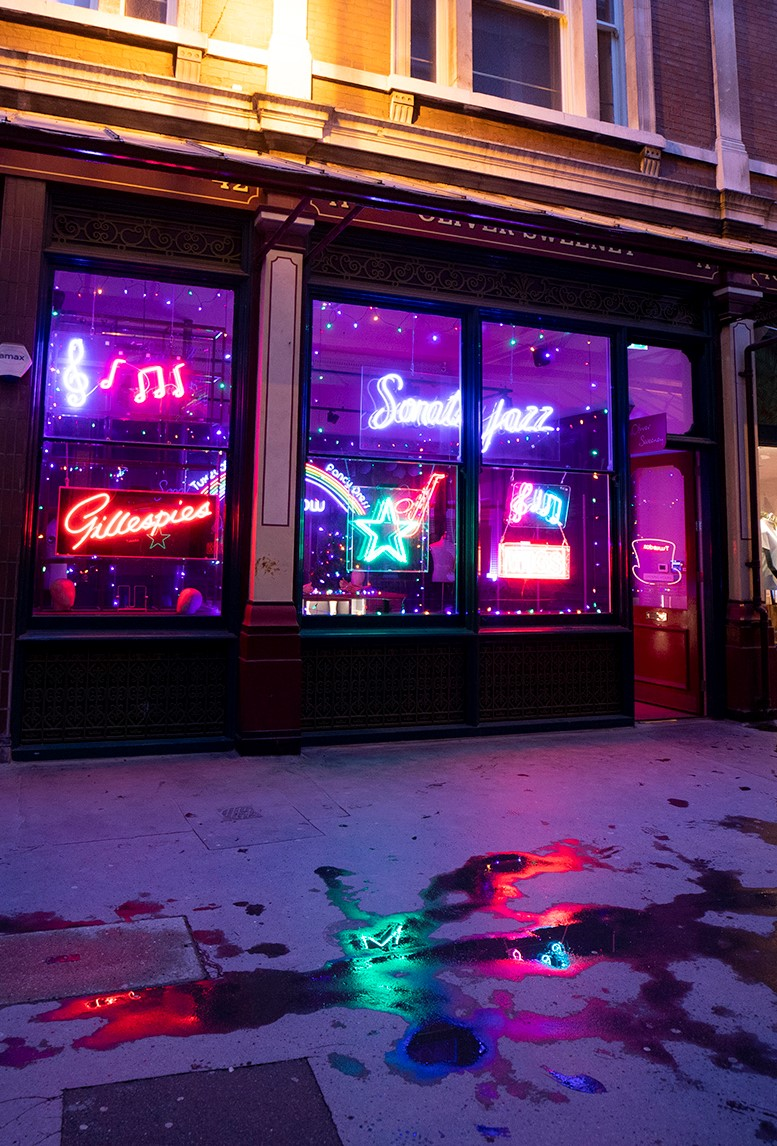 Electric City - Leadenhall Market announces Gods Own Junkyard takeover and neon film exhibition