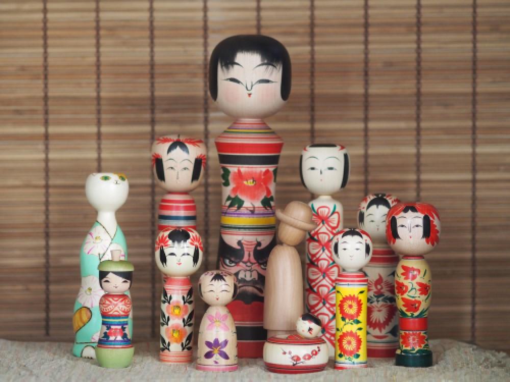 Japanese Kokeshi, Tohoku and beyond