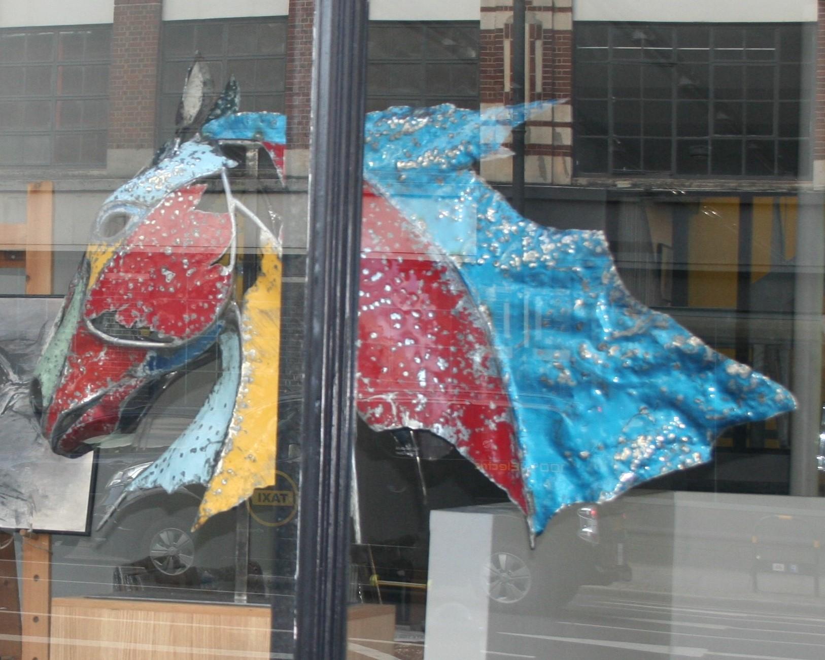Galleria Balmain pop-up contemporary Art gallery opening
