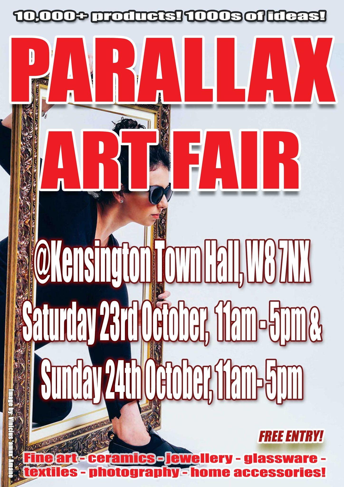 Parallax Art Fair 30th Edition in October 2021